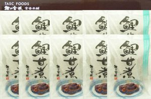 鯉の甘煮 10切箱詰 Lサイズ