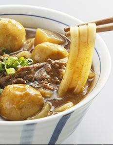 山形県産黒毛和牛 山形芋煮カレーうどんの素(2人前・うどん2食付き)