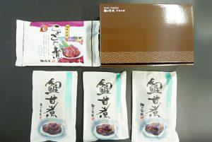 鯉甘煮×3切 ことこと煮1袋300g