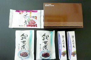 鯉甘煮×2切 ことこと煮1袋300g 鯉昆布長寿巻2本