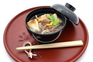 米沢牛 雑煮スープ